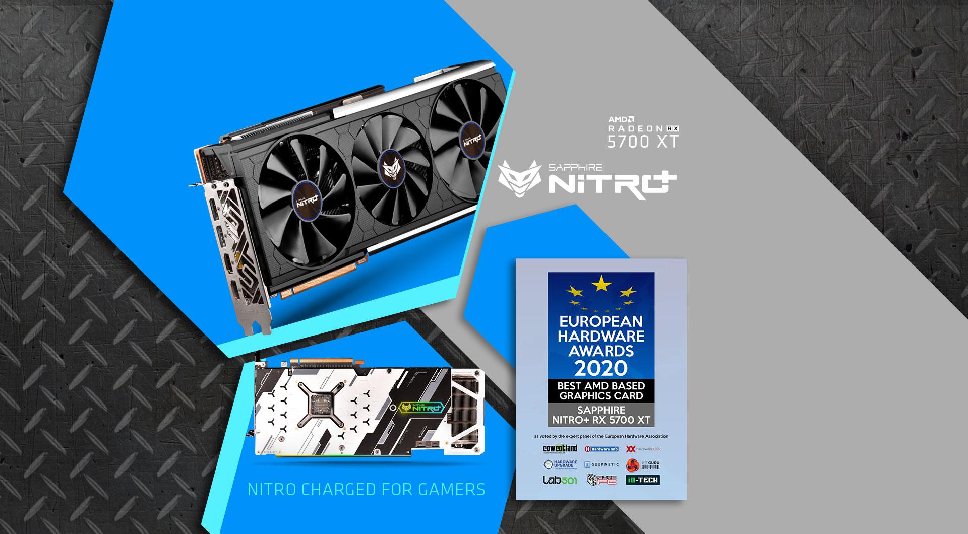 SAPPHIRE NITRO+ RX 5700 XT 8G GDDR6