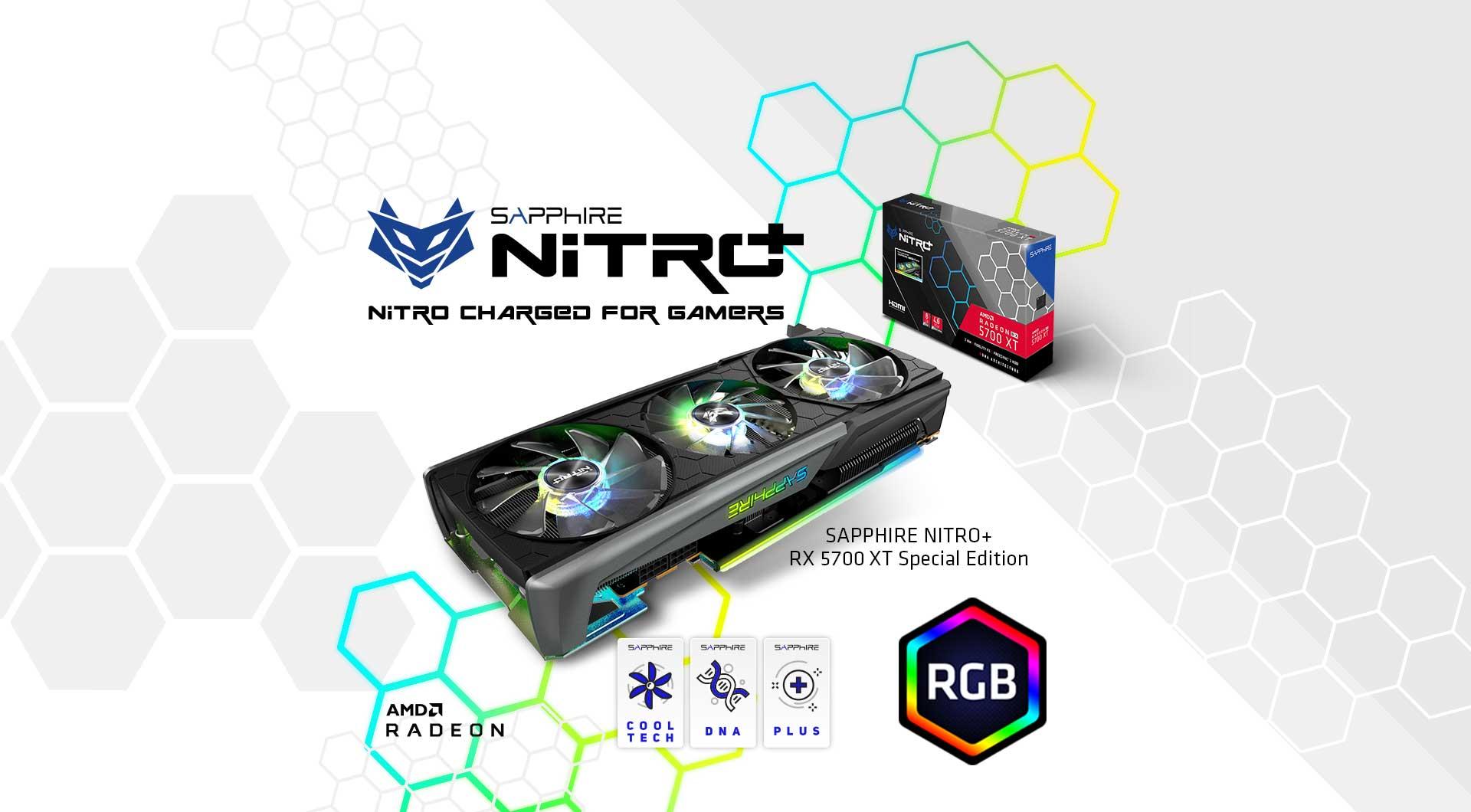 Sapphire nitro+ RX 5700 XT