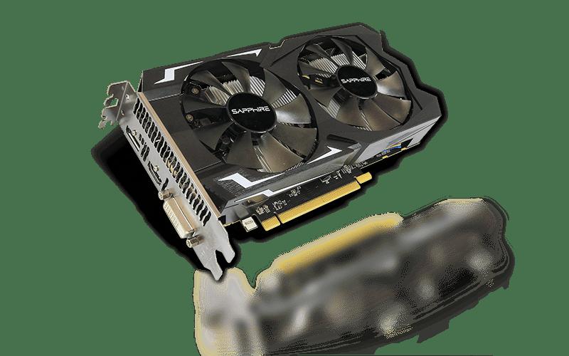SAPPHIRE PULSE Radeon RX 560 4GB GDDR5 14 CU Dual Fan