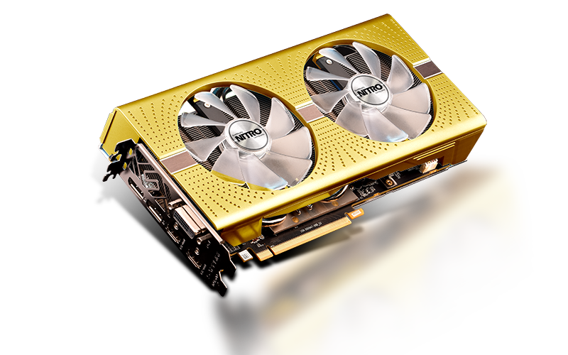 NITRO + RX 590 8GB AMD 50 Gold Edition